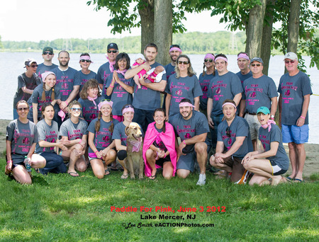 Team Special Kay Paddlin For Pink T-Shirt Photo