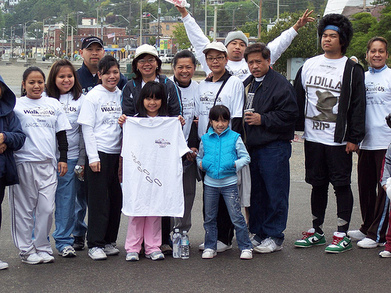 Walk It Out For Lupus Team Angel Walk T-Shirt Photo