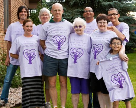 Celebrating Mom's 90th Year T-Shirt Photo