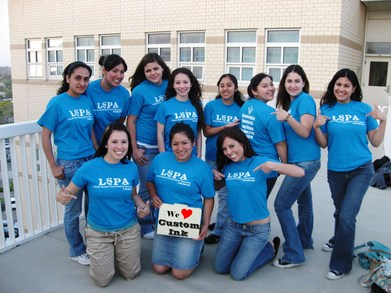 Lspa Loves Custom Ink.Com T-Shirt Photo