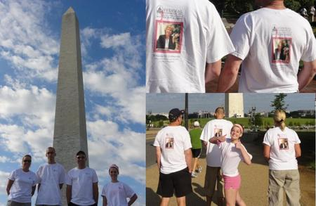 Federal Schedules Walks For A Cure T-Shirt Photo
