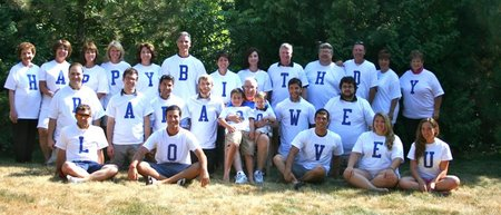 Papa's Family T-Shirt Photo
