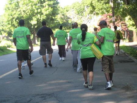 Walking Tall (Back Of Shirts) T-Shirt Photo