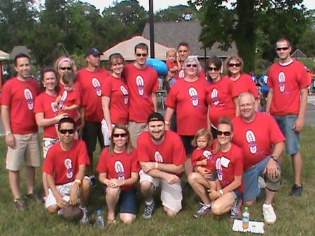 Scott's Stompers Stomping Out Crohn's And Colitis! T-Shirt Photo