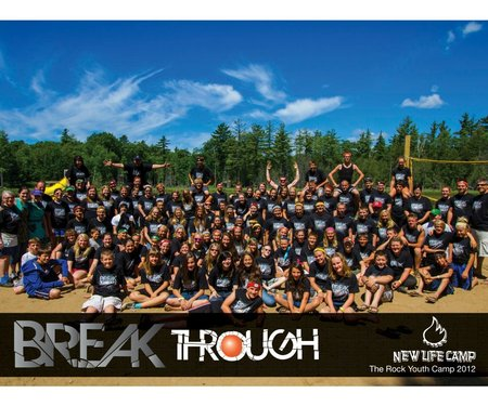 Summer Camp 2012: Break Through T-Shirt Photo
