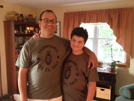 Two Happy Gamers! T-Shirt Photo