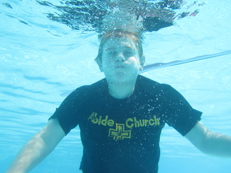 Diving In With Abide T-Shirt Photo