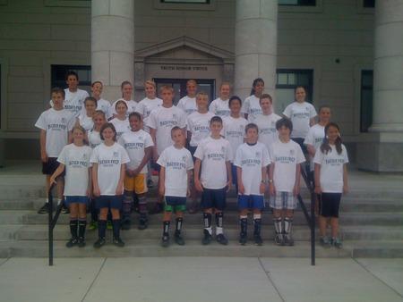 Maeser Prep Soccer Camp T-Shirt Photo