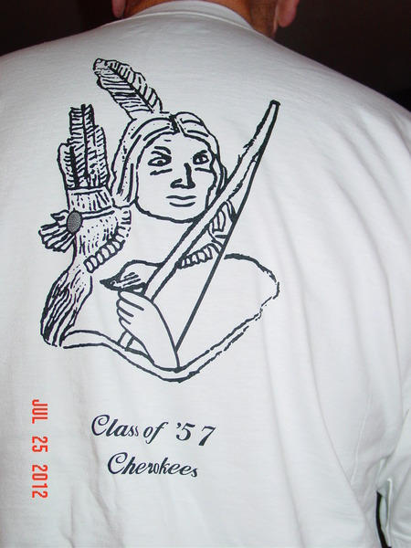 Class Of '57 Indian Brave T-Shirt Photo