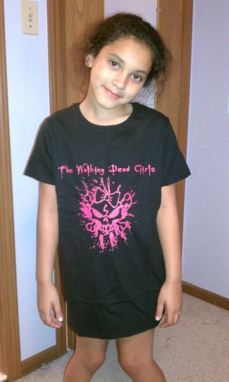 Walking Dead Girls T-Shirt Photo