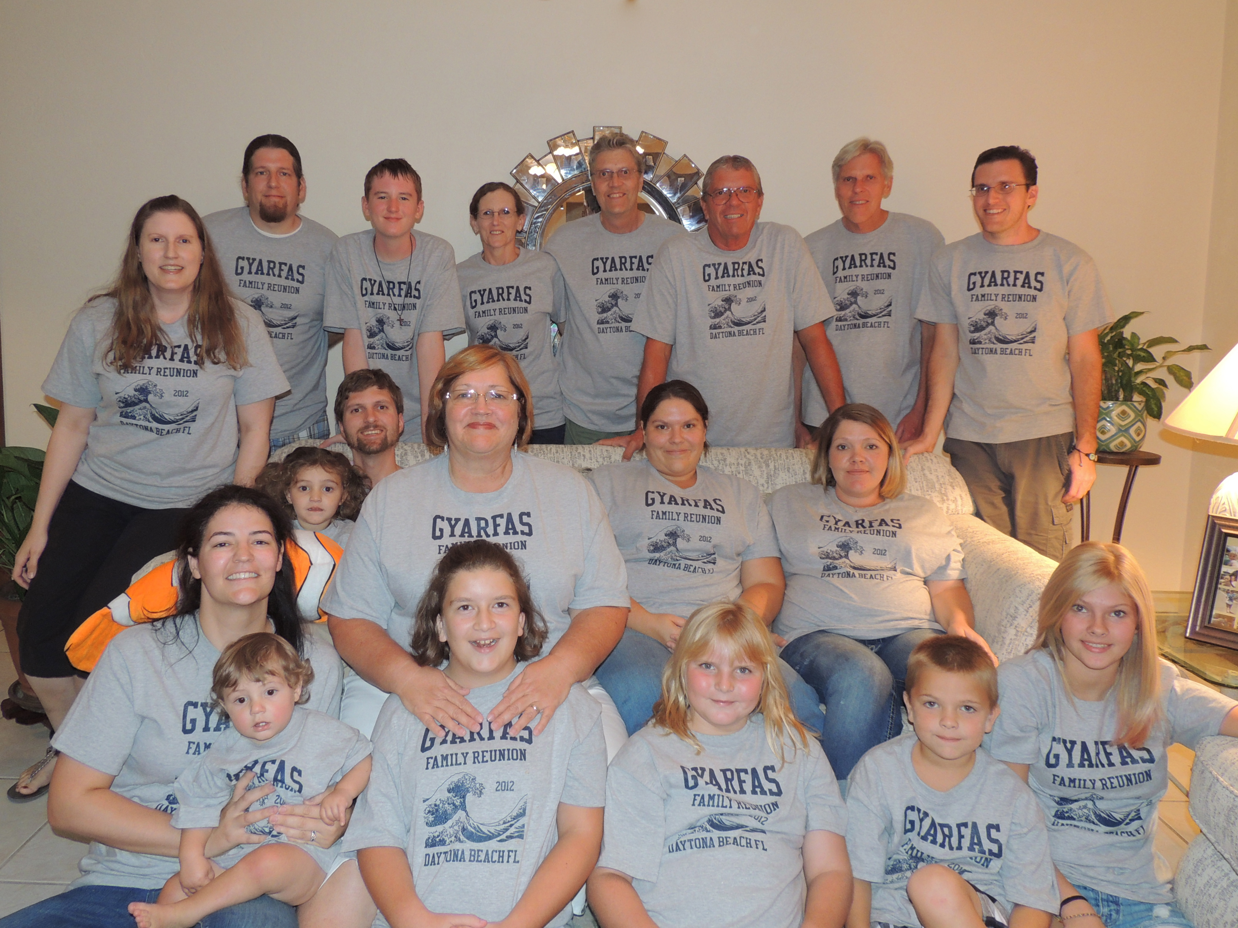 Design tshirt family - Gyarfas Family Reunion T Shirt Photo