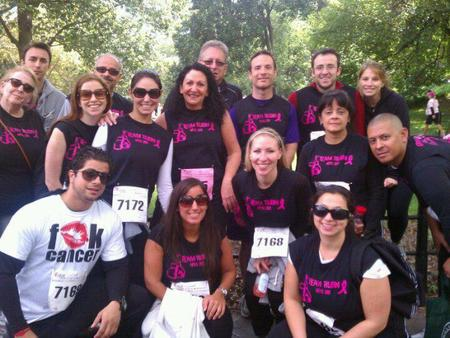Team Rubin   Nyc Race For The Cure 2011 T-Shirt Photo