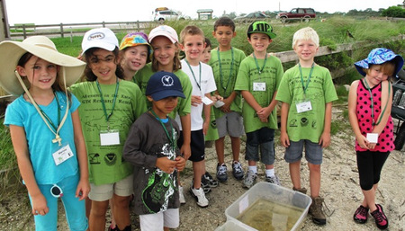 Seining Day For The 1st   3rd Grade Camp T-Shirt Photo