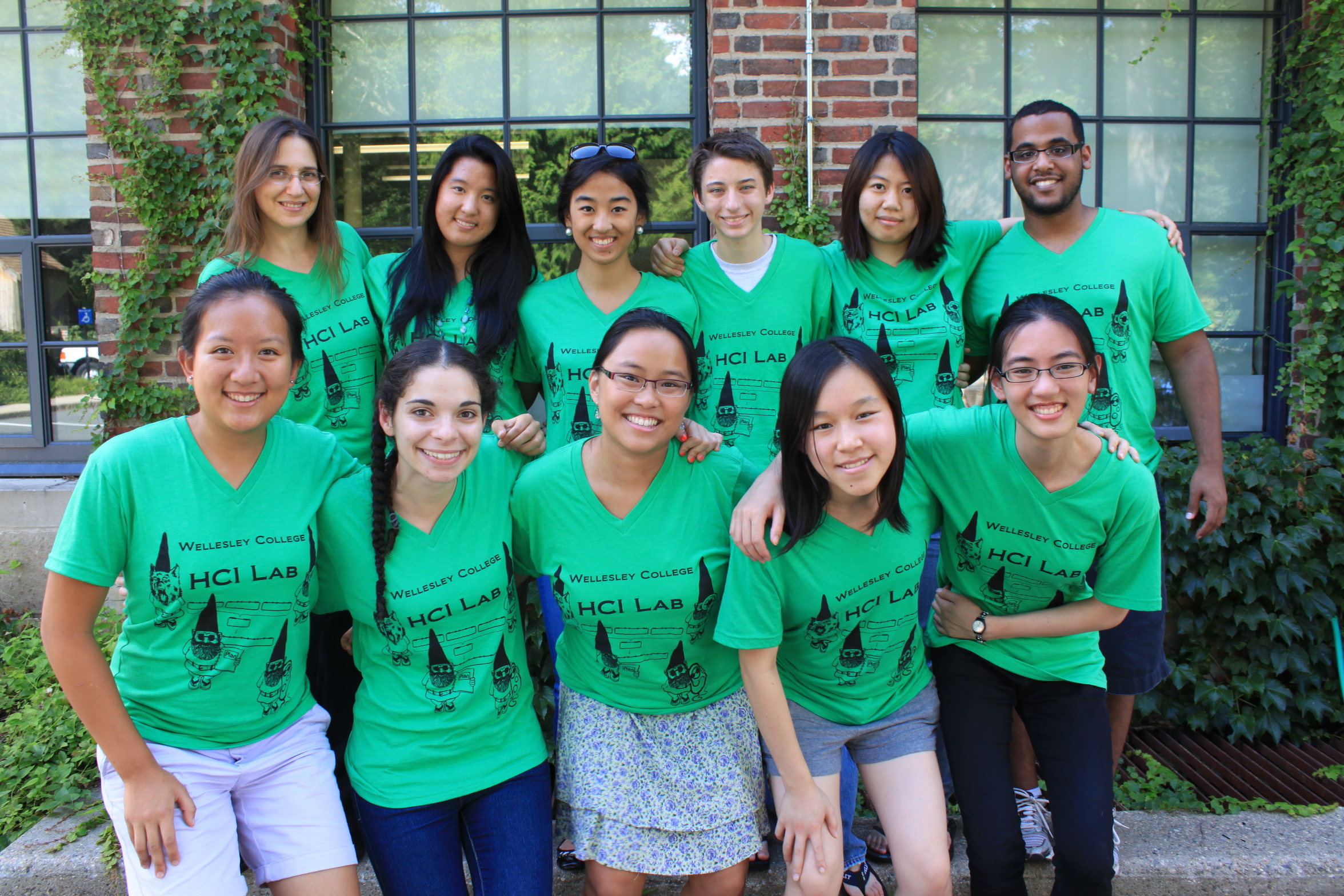 Shirt design lab - Wellesley College Hci Research Lab Gnomes T Shirt Photo