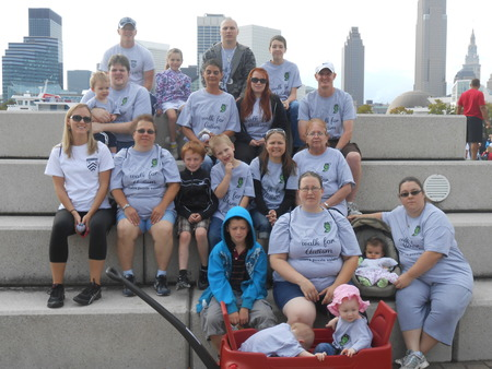 Cleveland Autism Walk 2012 T-Shirt Photo
