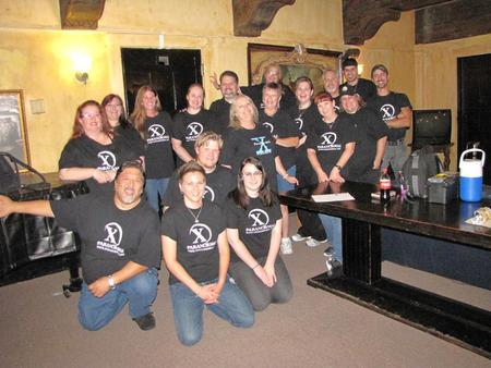 X Paranormal And Britt Griffith T-Shirt Photo