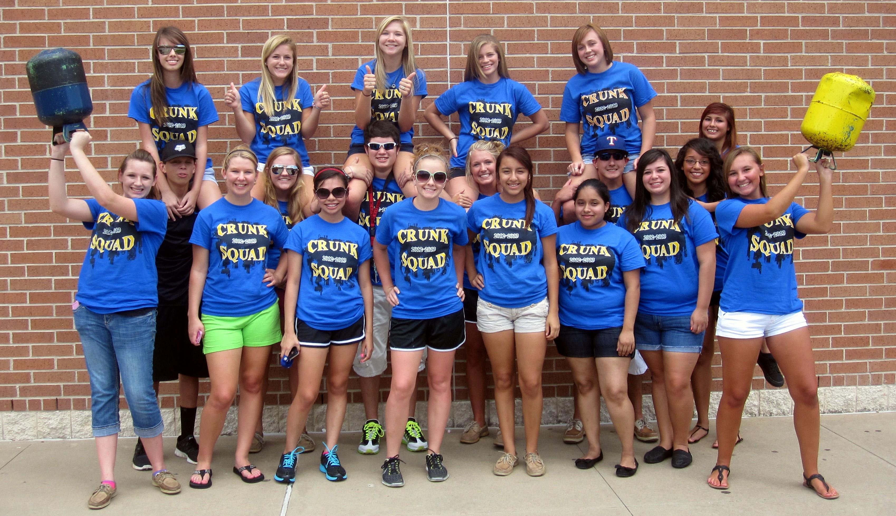 School shirt design your own - Bay City High School Crunk Squad T Shirt Photo