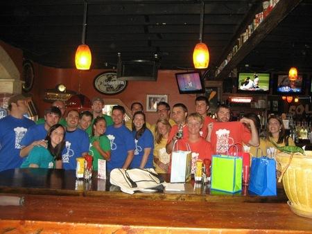 30th Birthday Bar Crawl T-Shirt Photo