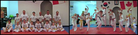 "Montague Taekwondo Gets A ""Kick"" Out Of Their New Customink Shirts! T-Shirt Photo"