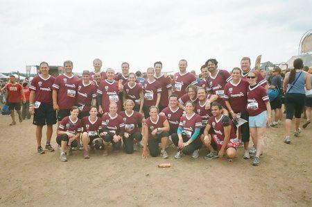 Team Sean Larkin Tough Mudders 2012 T-Shirt Photo