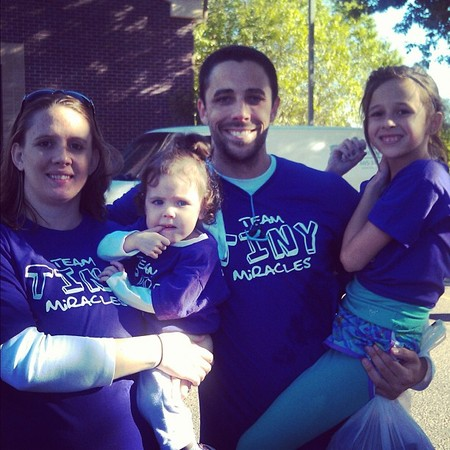 Team Tiny Miracles T-Shirt Photo