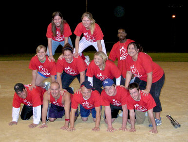 No Mercy Softball: We Are Stacked T-Shirt Photo