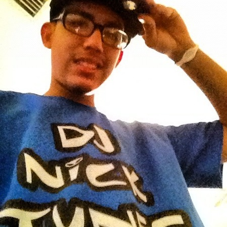 Dj Nick Tunes T-Shirt Photo