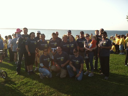 Taking Steps For Crohn's And Colits T-Shirt Photo