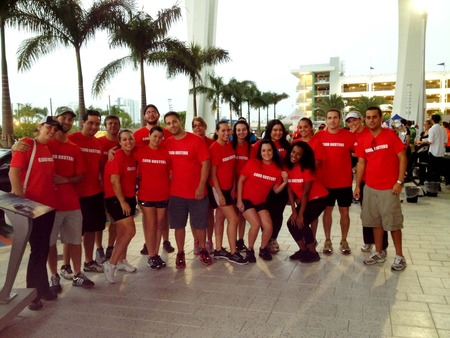 Carb Busters: Walk To Stop Diabetes 2012 T-Shirt Photo