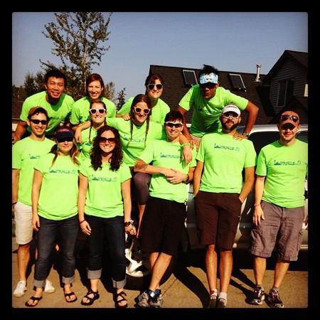 St Puyallup Biking Crew T-Shirt Photo