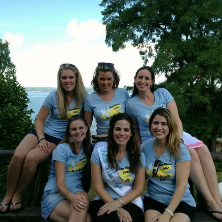 Team Bride Bachelorette At The Finger Lakes! T-Shirt Photo