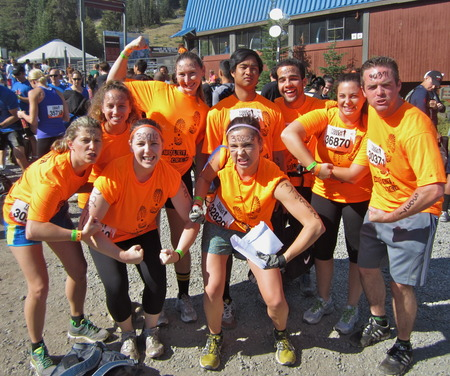 Mudley Crew Is Ready For Nor Cal Tough Mudder! T-Shirt Photo