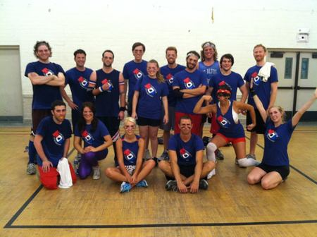 Dodger Strangelove Hollywood Dodgeball Team T-Shirt Photo