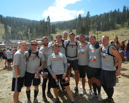 Pre Tahoe Tough Mudder T-Shirt Photo