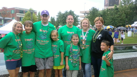 Reece's Krewe For A Cure   Jdrf Triad Chapter T-Shirt Photo