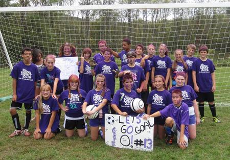 7th Grade Rocks At Soccer! T-Shirt Photo