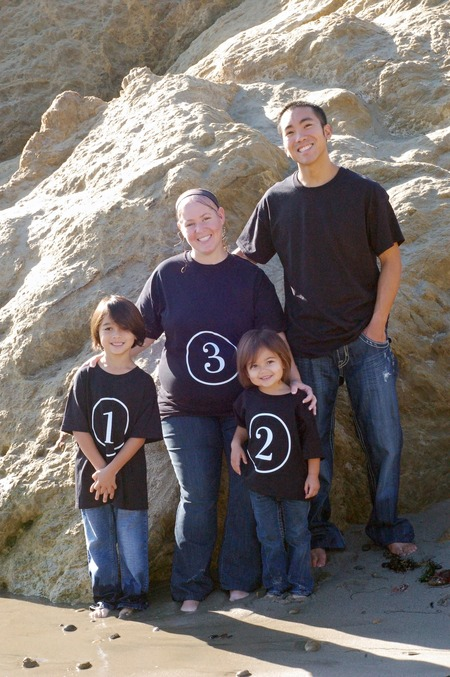 Baby Number 3 Announcement T-Shirt Photo