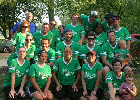 Total Package Softball Team T-Shirt Photo