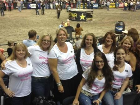 Cowgirls Gone Wild! Pbr Nashville 2012 T-Shirt Photo