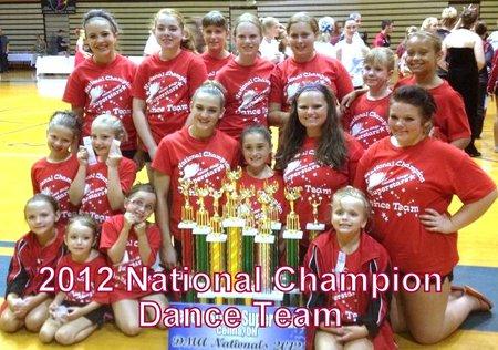 Center Stage Dance Team T-Shirt Photo