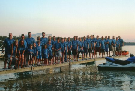 Hurry And Take The Picture Before This Dock Collapses!  T-Shirt Photo