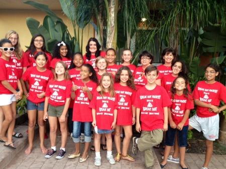 Break Out Students & Teachers T-Shirt Photo