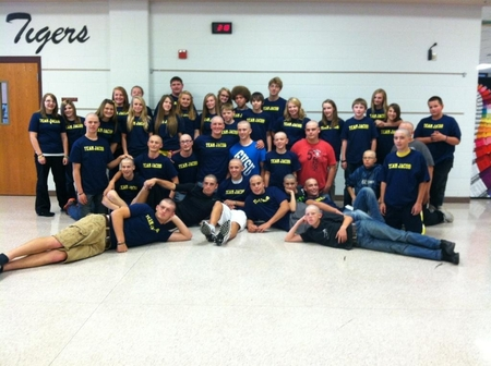 Students For Team Jacob T-Shirt Photo