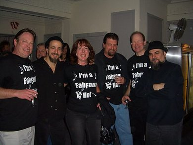 Backstage W/ The Fab Faux! T-Shirt Photo