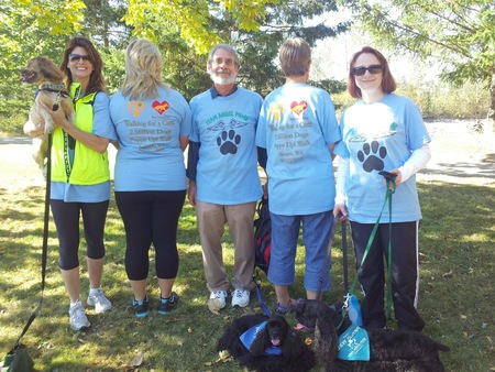 Team Angel Paws 2012 T-Shirt Photo
