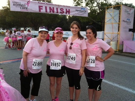 Bennett Design Group Pink Ribbon Walk Houston T-Shirt Photo