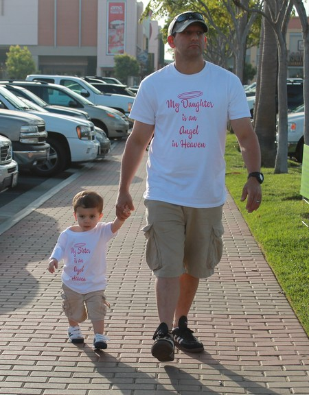 Walking For Our Daughter/Sister... T-Shirt Photo
