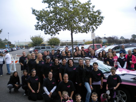 Team Randi Walk For A Cure T-Shirt Photo
