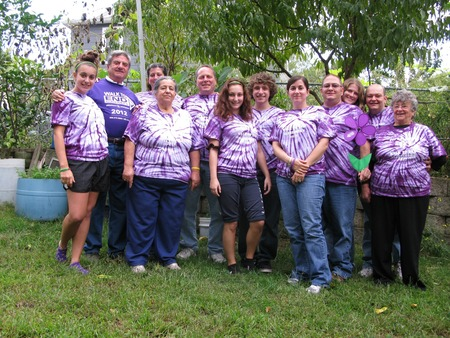 Pop's Players Walk To End Alzheimer's 2012 T-Shirt Photo
