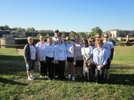 Amy's Angels Step Out: Walk To Stop Diabetes T's T-Shirt Photo